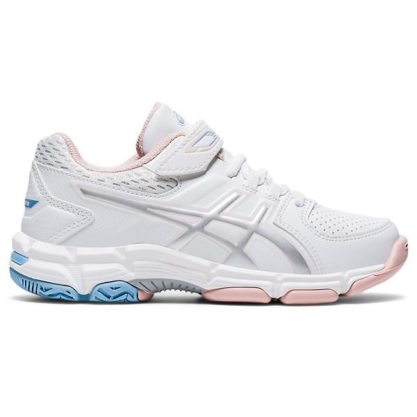 Asics Gel 540TR PS - Kids Cross Training Shoes - White/Pure Silver