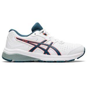 Asics GT-1000 SL GS - Kids Cross Training Shoes - White/Magnetic Blue