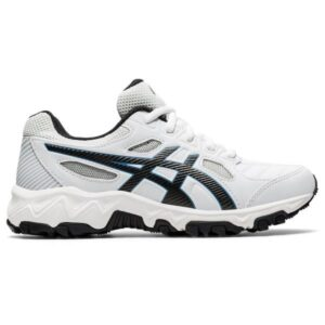 Asics Gel Trigger 12 TX GS - Kids Cross Training Shoes - White/Black