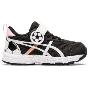 Asics Contend 6 TS Soccer - Toddler Running Shoes - Black/Rose Gold