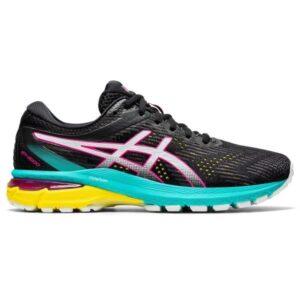 Asics GT-2000 8 Trail - Womens Trail Running Shoes - Black/White