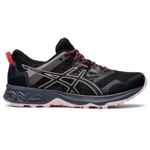 Asics Gel Sonoma 5 - Womens Trail Running Shoes - Black/Black