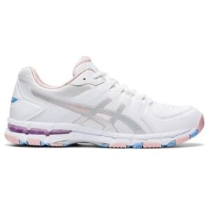 Asics Gel 540TR - Womens Cross Training Shoes - White/Pure Silver