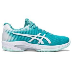 Asics Gel Solution Speed FF - Womens Tennis Shoes - Techno Cyan