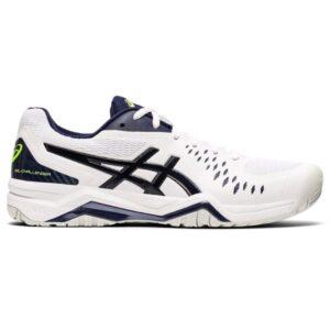 Asics Gel Challenger 12 Hardcourt - Mens Tennis Shoes - White/Peacoat