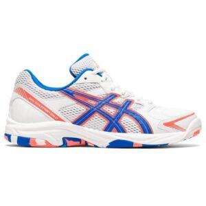Asics Gel Shepparton 2 - Womens Lawn Bowls Shoes - White/Electric Blue