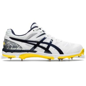 Asics Gel ODI - Mens Cricket Shoes - White/Midnight