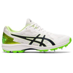Asics Strike Rate FF - Mens Cricket Shoes - White/Peacoat