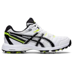 Asics Gel Gully 6 - Mens Cricket Shoes - White/Black