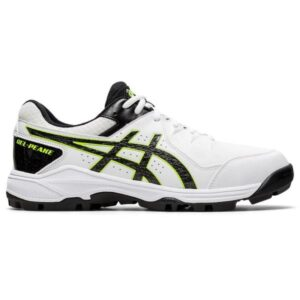 Asics Gel Peake 6 - Mens Cricket Shoes - White/Black