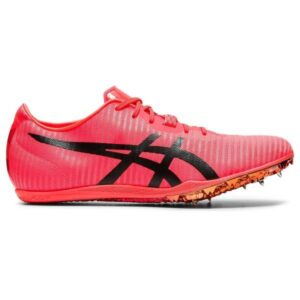 Asics Cosmoracer MD 2 Tokyo - Unisex Middle Distance Track Spikes - Sunrise Red/Eclipse Black