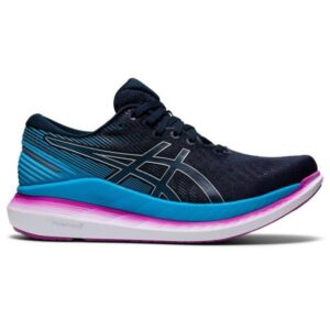 Asics GlideRide 2 - Womens Running Shoes - French Blue/Digital Aqua