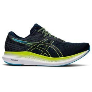 Asics EvoRide 2 - Mens Running Shoes - French Blue/Hazard Green