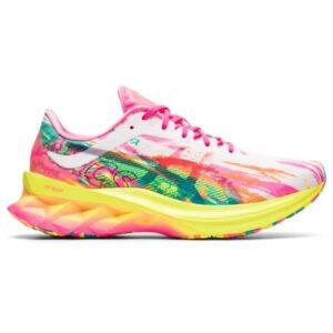 Asics NovaBlast Noosa - Womens Running Shoes - Hot Pink/Sour Yuzu