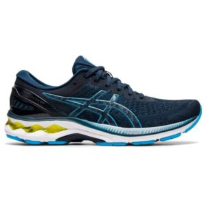 Asics Gel Kayano 27 - Mens Running Shoes - French Blue/Digital Aqua