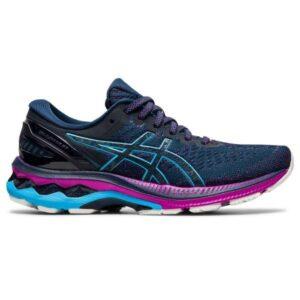 Asics Gel Kayano 27 - Womens Running Shoes - French Blue/Digital Aqua