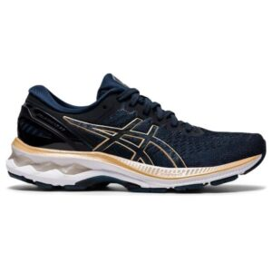 Asics Gel Kayano 27 - Womens Running Shoes - French Blue/Champagne