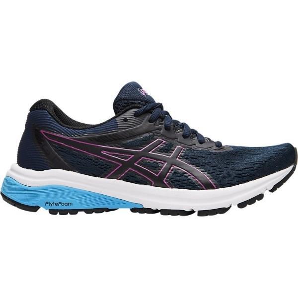 Asics GT-800 - Womens Running Shoes - French Blue/Digital Grape