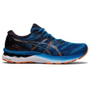 Asics Gel Nimbus 23 - Mens Running Shoes - Reborn Blue/Black