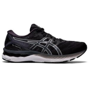 Asics Gel Nimbus 23 - Mens Running Shoes - Black/White