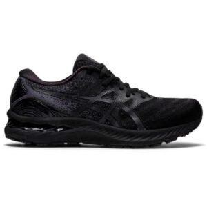 Asics Gel Nimbus 23 - Mens Running Shoes - Triple Black
