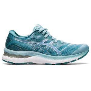 Asics Gel Nimbus 23 - Womens Running Shoes - Smoke Blue/Pure Silver