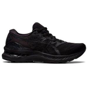 Asics Gel Nimbus 23 - Womens Running Shoes - Triple Black