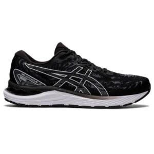 Asics Gel Cumulus 23 - Mens Running Shoes - Black/White