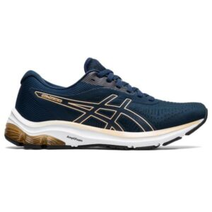 Asics Gel Pulse 12 - Womens Running Shoes - French Blue/Champagne
