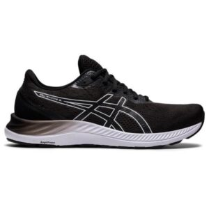 Asics Gel Excite 8 - Mens Running Shoes - Black/White