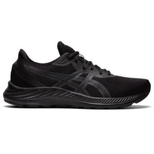 Asics Gel Excite 8 - Mens Running Shoes - Triple Black/Carrier Grey