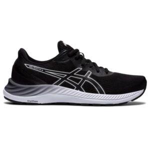 Asics Gel Excite 8 - Womens Running Shoes - Black/White