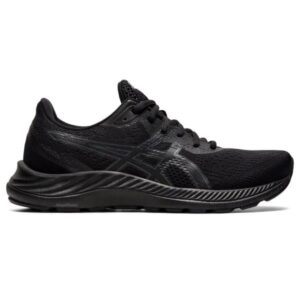Asics Gel Excite 8 - Womens Running Shoes - Triple Black/Carrier Grey