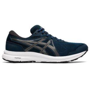 Asics Gel-Contend 7 - Mens Running Shoes - French Blue/Gun Metal