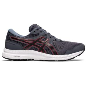 Asics Gel Contend 7 - Mens Running Shoes - Carrier Grey/Classic Red