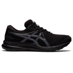 Asics Gel-Contend 7 - Mens Running Shoes - Triple Black/Carrier Grey