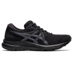 Asics Gel Contend 7 - Womens Running Shoes - Triple Black/Carrier Grey