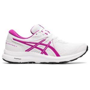 Asics Gel Contend 7 - Womens Running Shoes - White/Digital Grape