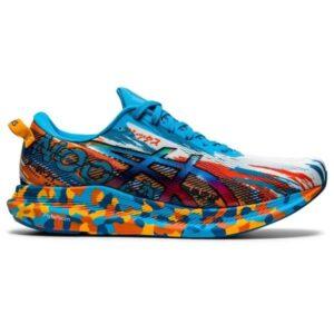 Asics Gel Noosa Tri 13 - Mens Running Shoes - Digital Aqua/Marigold Orange