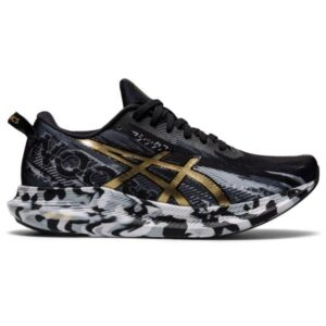 Asics Gel Noosa Tri 13 - Womens Running Shoes - Black/Pure Gold