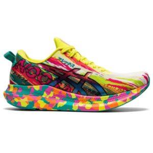 Asics Gel Noosa Tri 13 - Womens Running Shoes - Hot Pink/Sour Yuzu