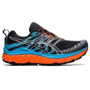 Asics Trabuco Max - Mens Trail Running Shoes - Black/Digital Aqua