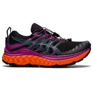 Asics Trabuco Max - Womens Trail Running Shoes - Black/Digital Grape