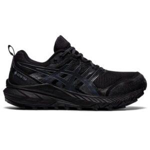 Asics Gel Trabuco 9 GTX - Womens Trail Running Shoes - Triple Black/Carrier Grey