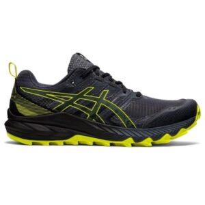 Asics Gel-Trabuco 9 - Mens Trail Running Shoes - Carrier Grey/Sour Yuzu
