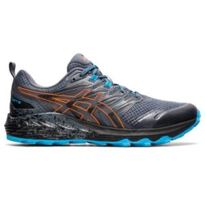 Asics Gel-Trabuco Terra - Mens Trail Running Shoes - Metropolis/Marigold Orange