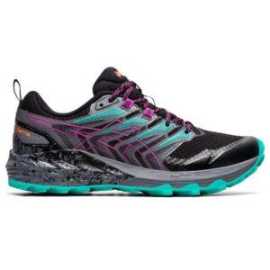 Asics Gel-Trabuco Terra - Womens Trail Running Shoes - Black/Digital Grape