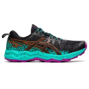 Asics Fuji Trabuco Lyte - Womens Trail Running Shoes - Black/Baltic Jewel