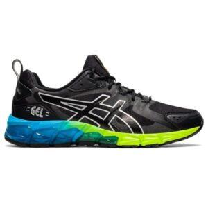 Asics Gel-Quantum 180 - Mens Sneakers - Black/Aizuri Blue