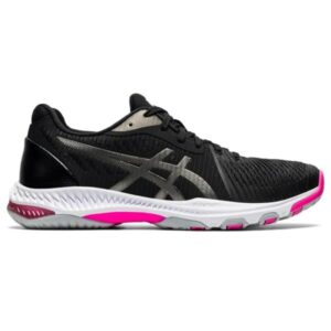 Asics Netburner Ballistic FF 2 - Womens Netball Shoes - Black/Gunmetal